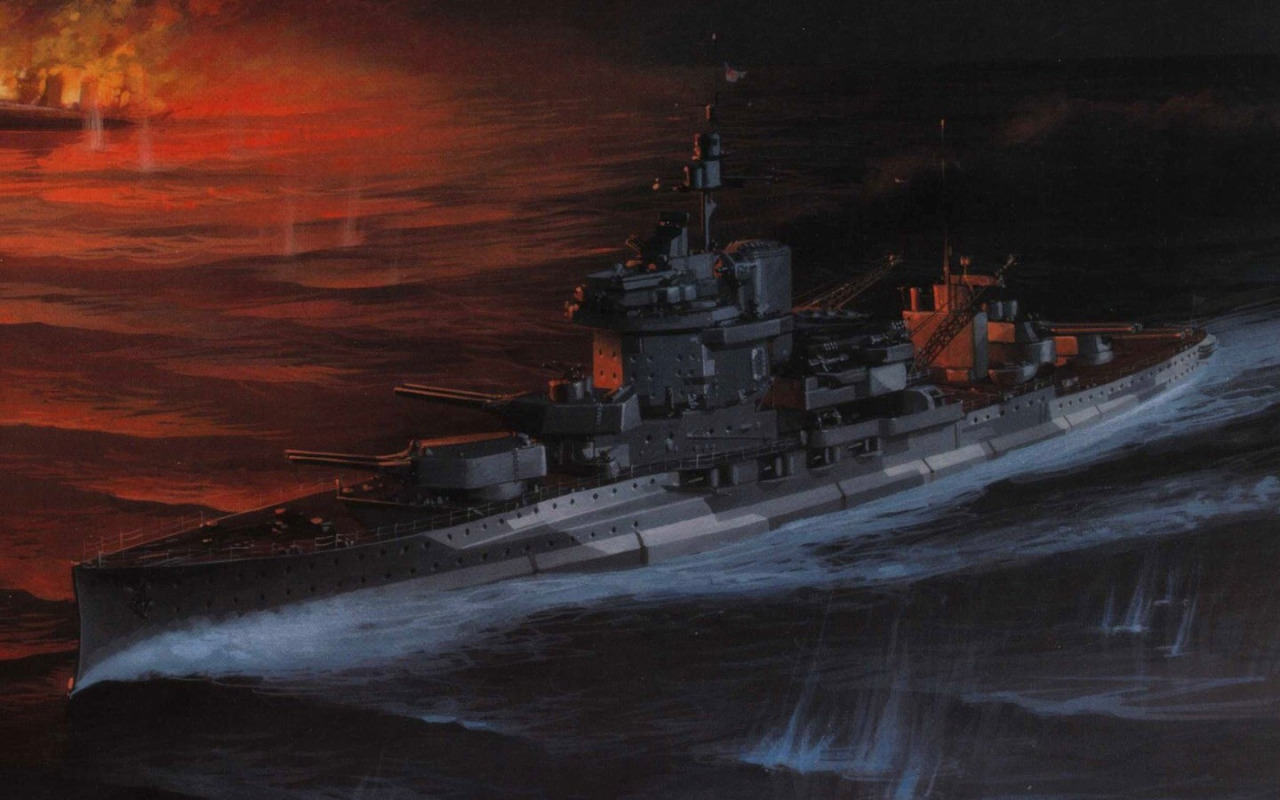 Wrobel Jaroslaw. Линкор «Warspite».