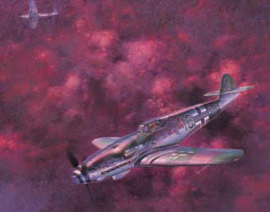 Shigeo Koike. Истребитель Bf-109K-4.