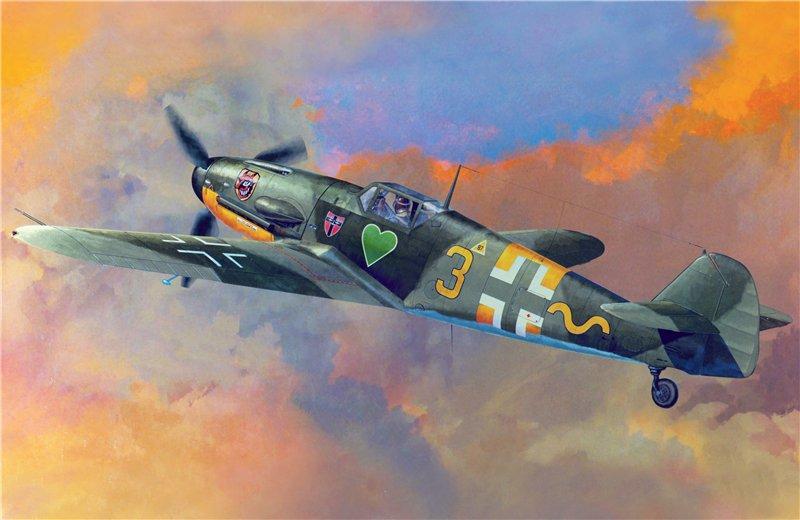 Shigeo Koike. Истребитель Bf-109.