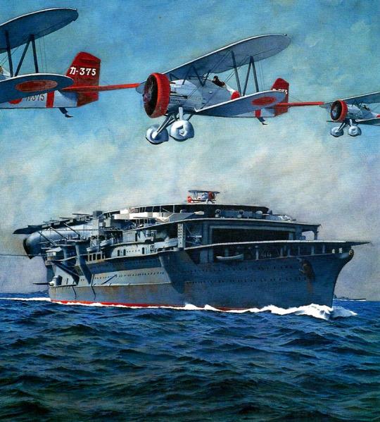 Wrobel Jaroslaw. Авианосец «Kaga».