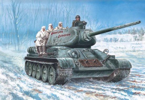 Wai Vincent. Танки Т-34-85.
