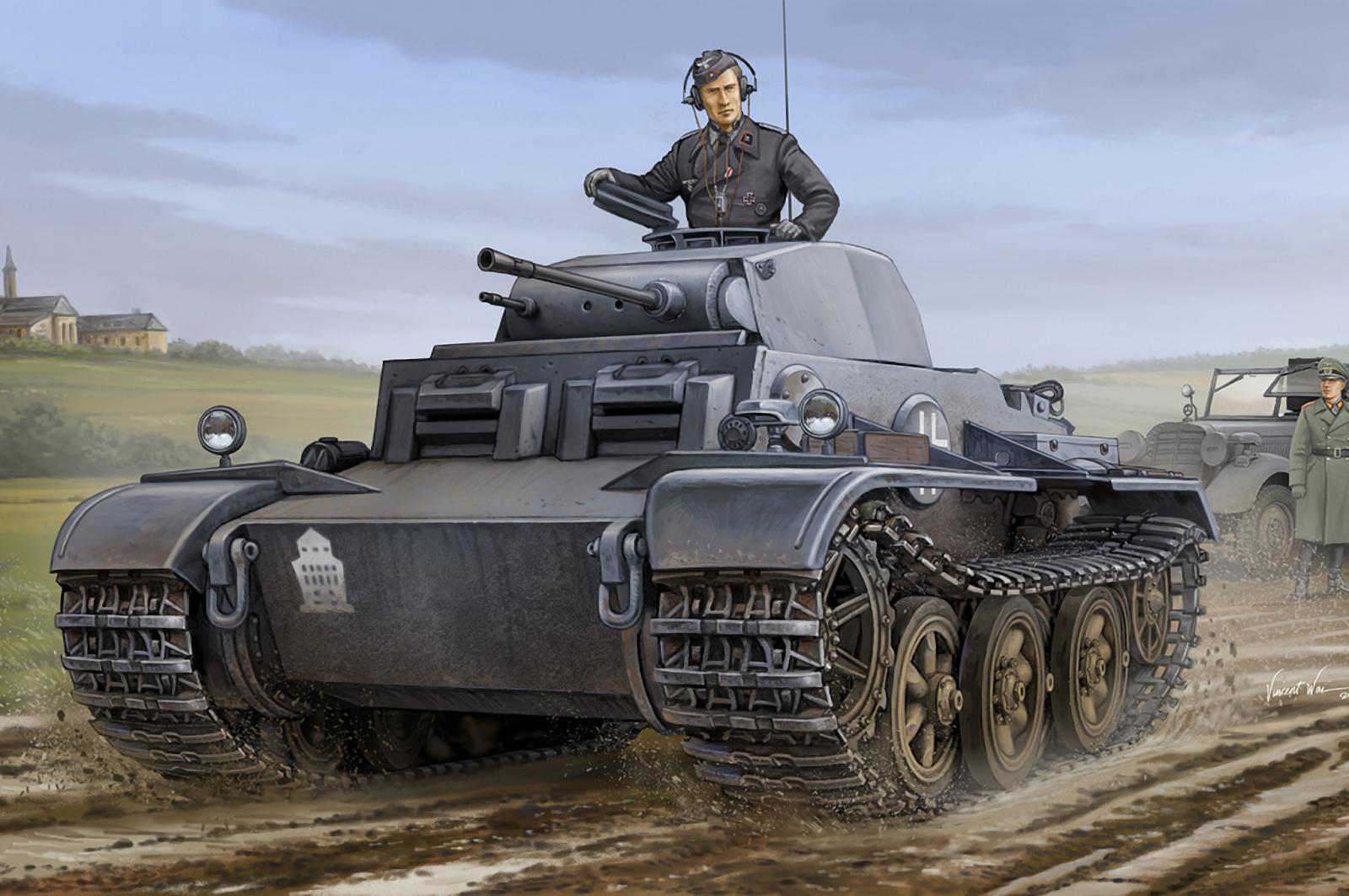 Wai Vincent. Танк Pz.Kpfw. II Ausf. J.