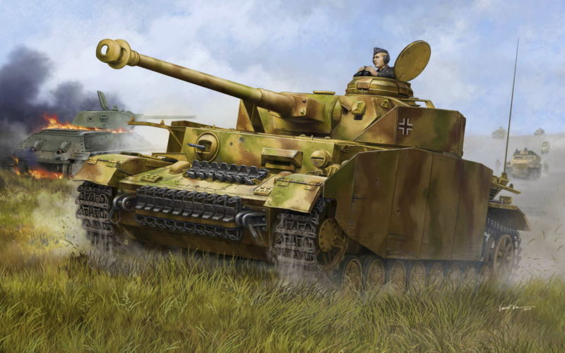 Wai Vincent. Танк Panzer IV Аusf. H.