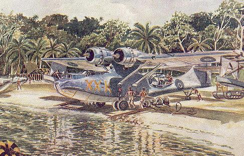 Conly Maurice. Летающая лодка «Catalina».