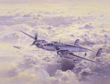 Shigeo Koike. Истребитель Bf-110.