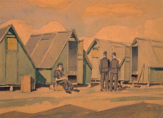 Barns-Graham Allan. Военный лагерь.