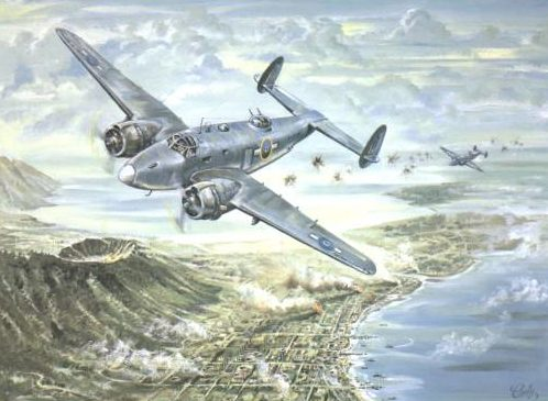 Conly Maurice. Бомбардировщик PV-1 Ventura.