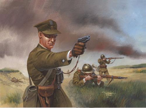 Wrobel Jaroslaw. Польская пехота.