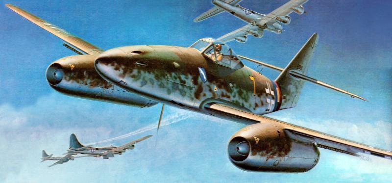 Shigeo Koike. Истребитель Ме-262.