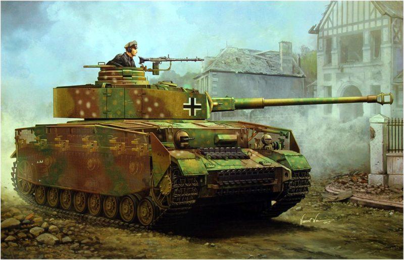 Wai Vincent. Танк Panzer IV Аusf J.