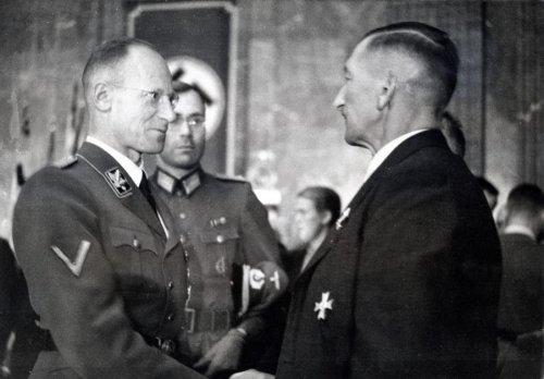 Герберт Баке 1943 г.
