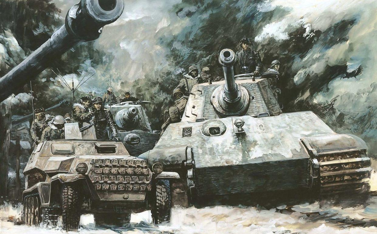 Takani Yoshiyuki. Танк Pz.Kpfw. VI Ausf. B.