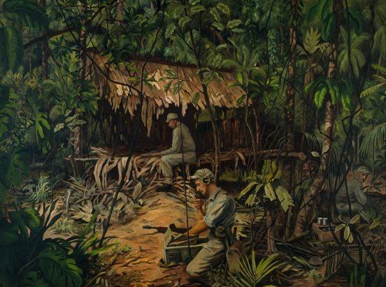 Barns-Graham Allan. Радисты в джунглях.