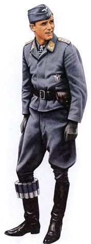 Офицеры Люфтваффе.