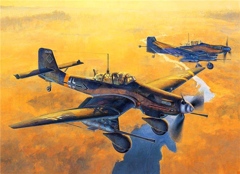 Shigeo Koike. Истребитель Ju-87.