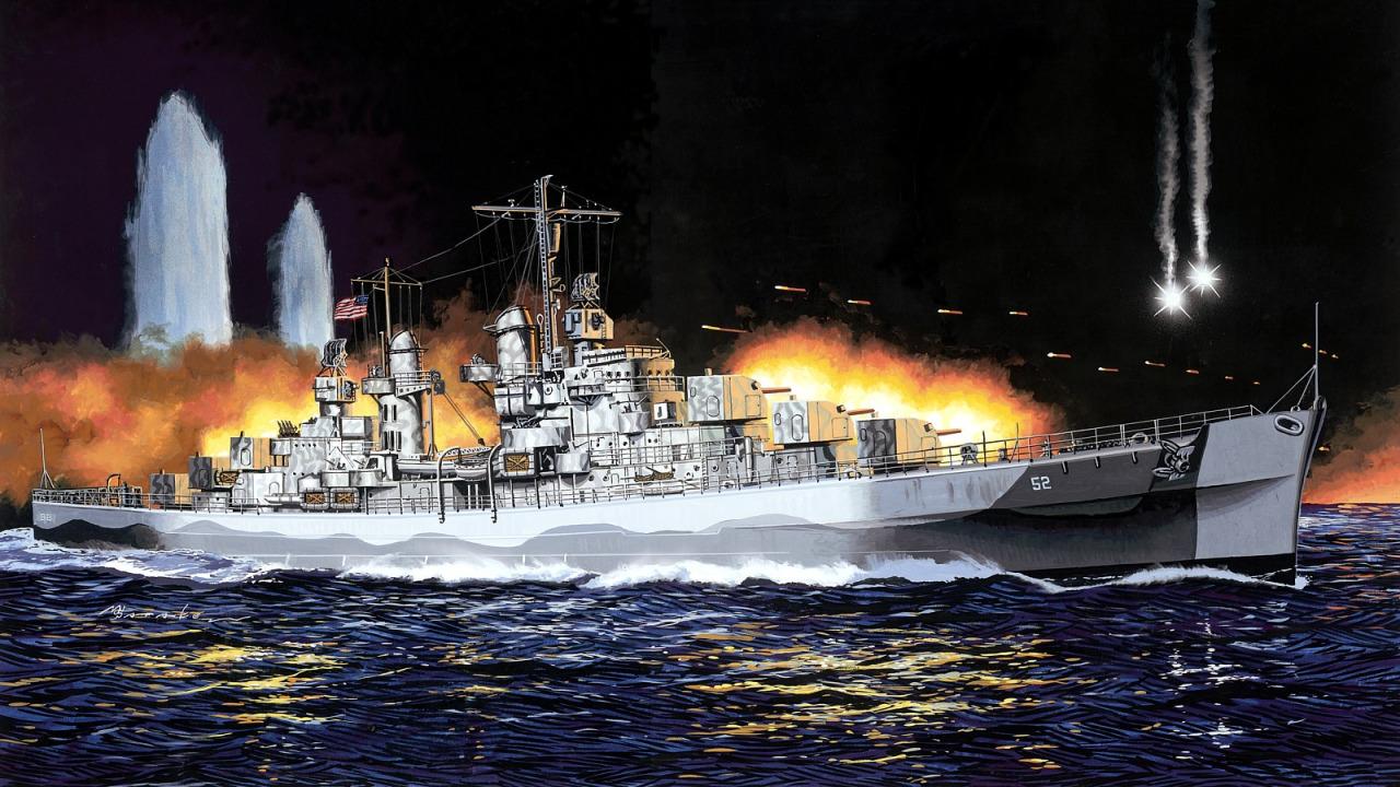 Satake Masao. Легкий крейсер Juneau CL-52.
