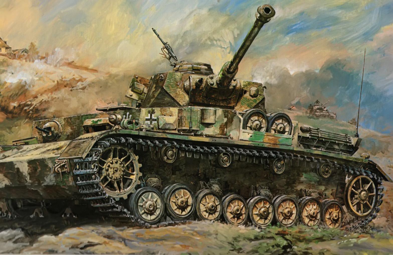 Takani Yoshiyuki. Танк Panzer IV Ausf. G .