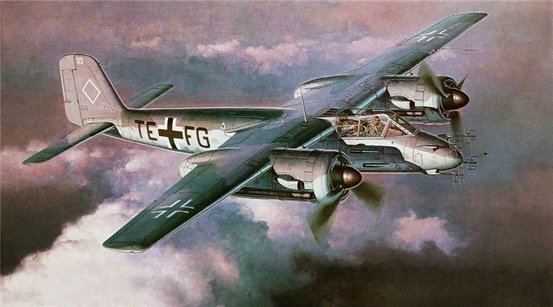 Shigeo Koike. Истребитель Focke-Wulf Ta-154.