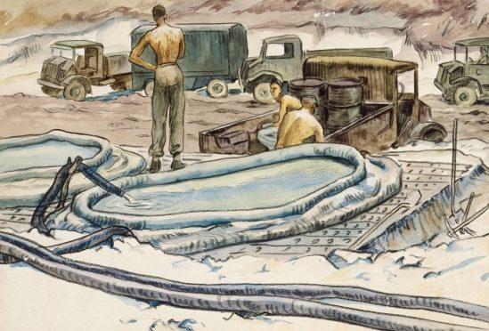 Barns-Graham Allan. «Источник» воды.