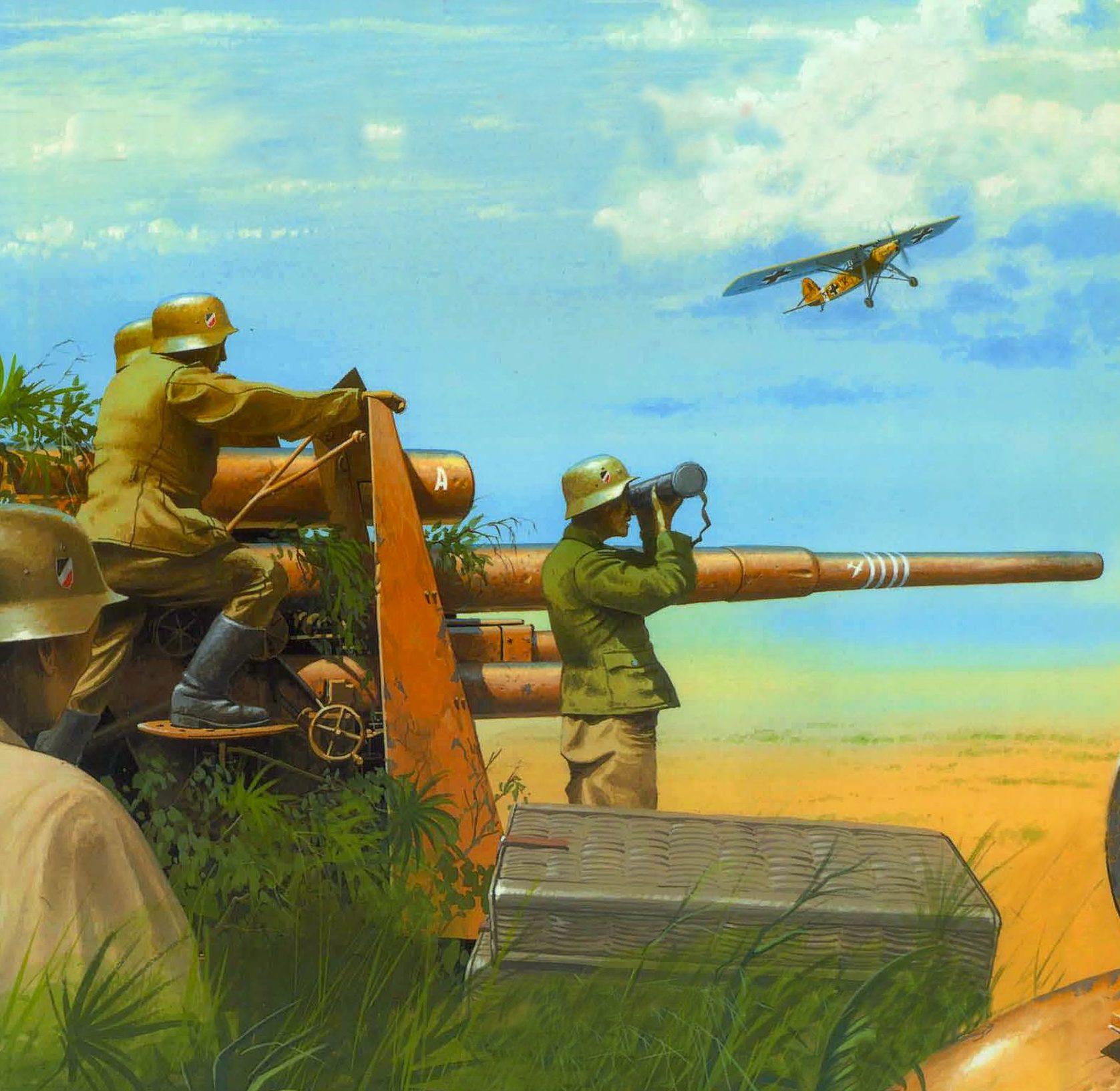 Wrobel Jaroslaw. Зенитное орудие 8,8 cm Flak 36.