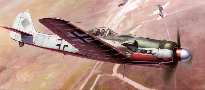 Shigeo Koike. Истребитель FW-190.