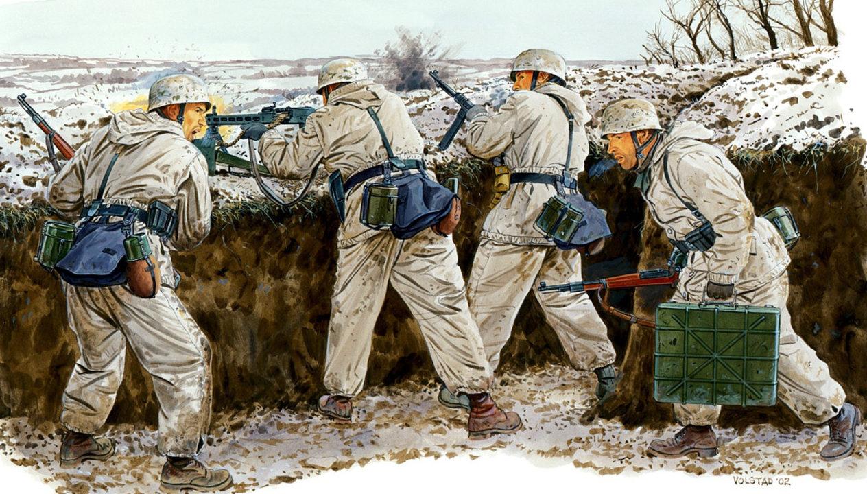 Volstad Ronald. Десантники под Кировоградом. Зима 1942-1943 года.