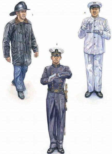 Служащие береговой охраны.