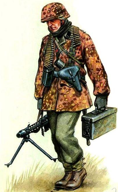 Wrobel Jaroslaw. Пулеметчики.