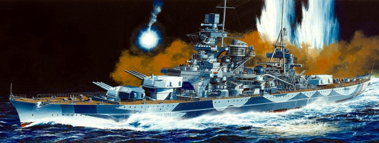 Satake Masao. Линкор «Scharnhorst».