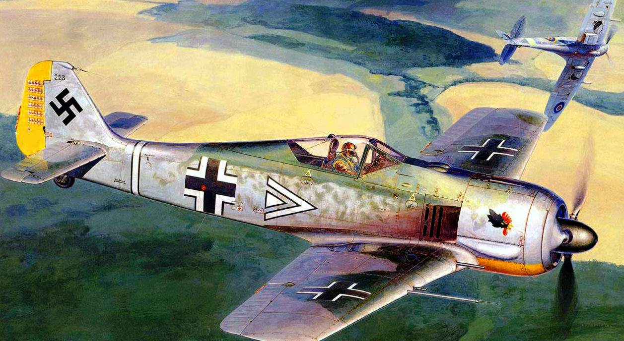 Shigeo Koike. Истребитель FW-190А.