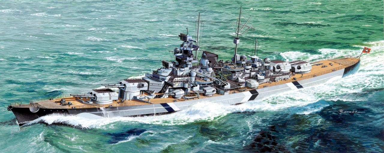 Satake Masao. Линкор «Bismarck».