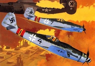 Shigeo Koike. Истребители FW-190s.