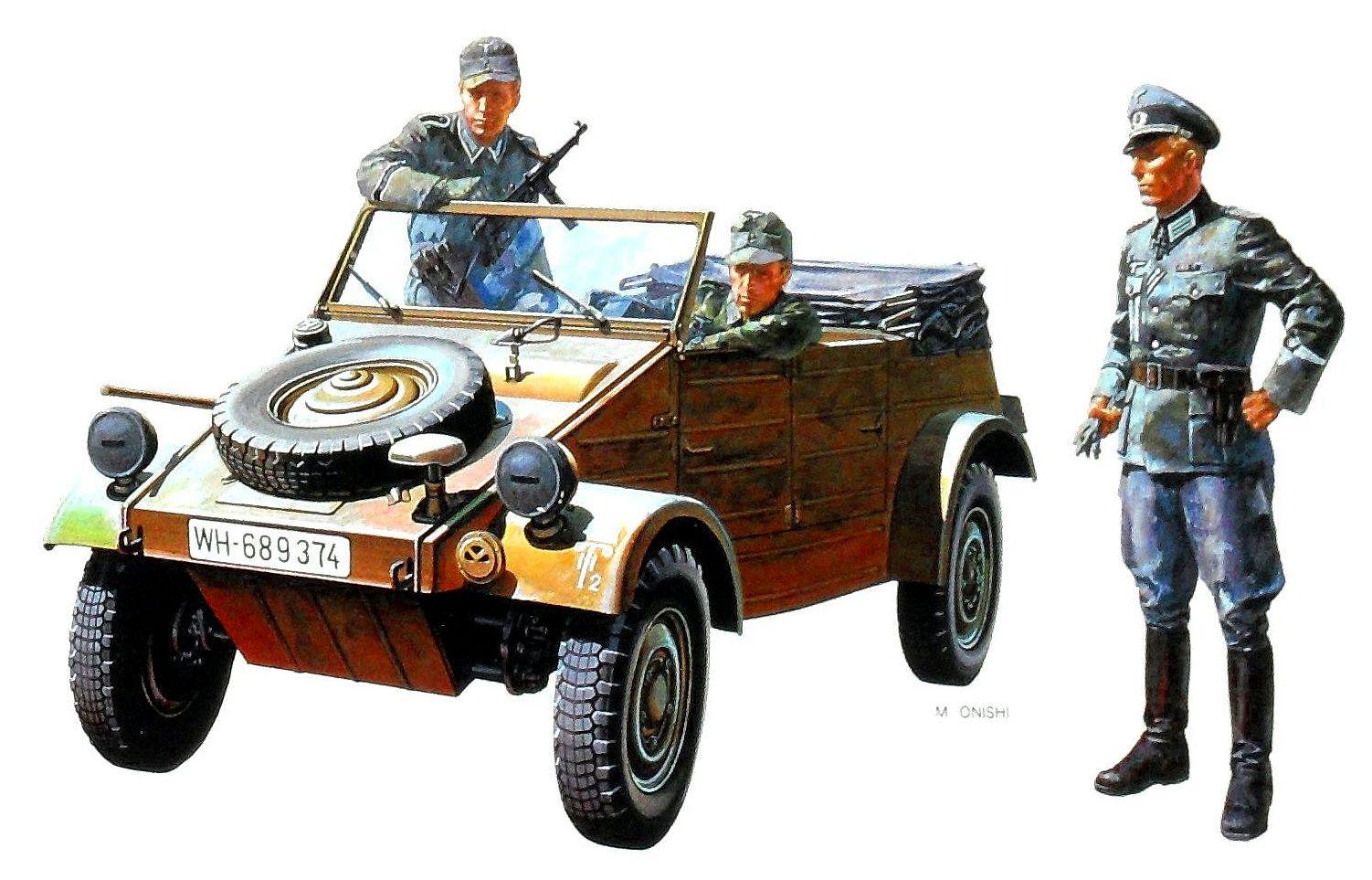 Onishi Masami. Внедорожник Kubelwagen Type 82.