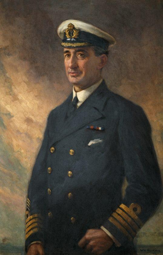 Bowring Walter Armiger. Капитан Percival Henry Hall-Thompson.