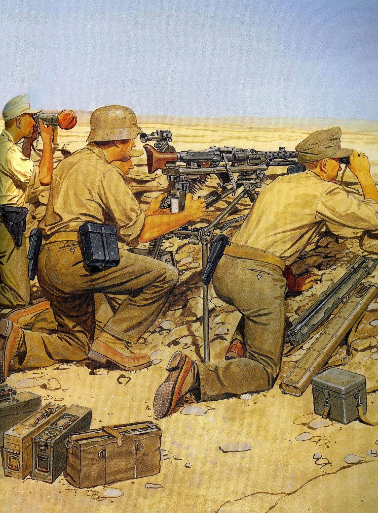 Volstad Ronald. Расчет пулемета MG-42.