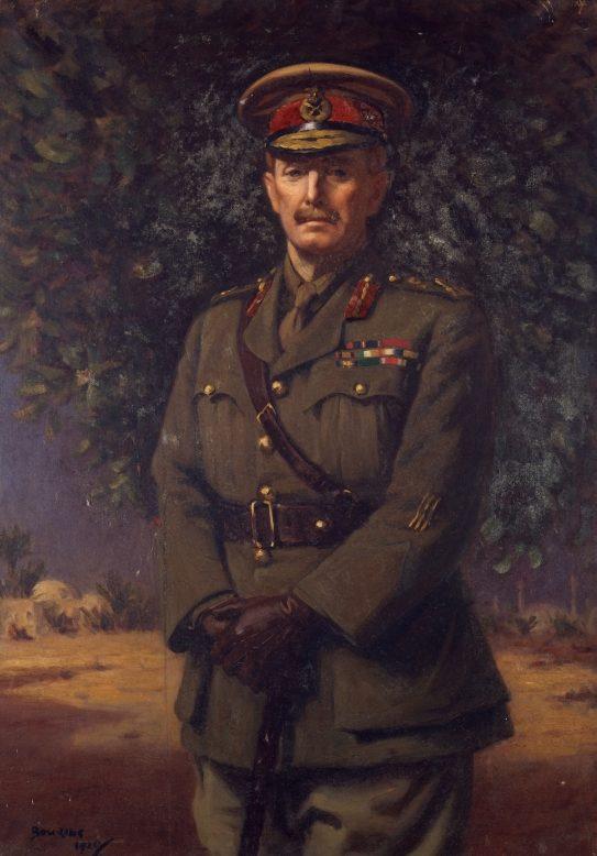 Bowring Walter Armiger. Генерал -майор Chaytor.