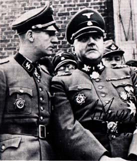 Кристиан Бергер Готтлоб и Рудоль Леман. 1940 г.