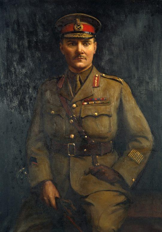 Bowring Walter Armiger. Бригадный генерал Freyberg.