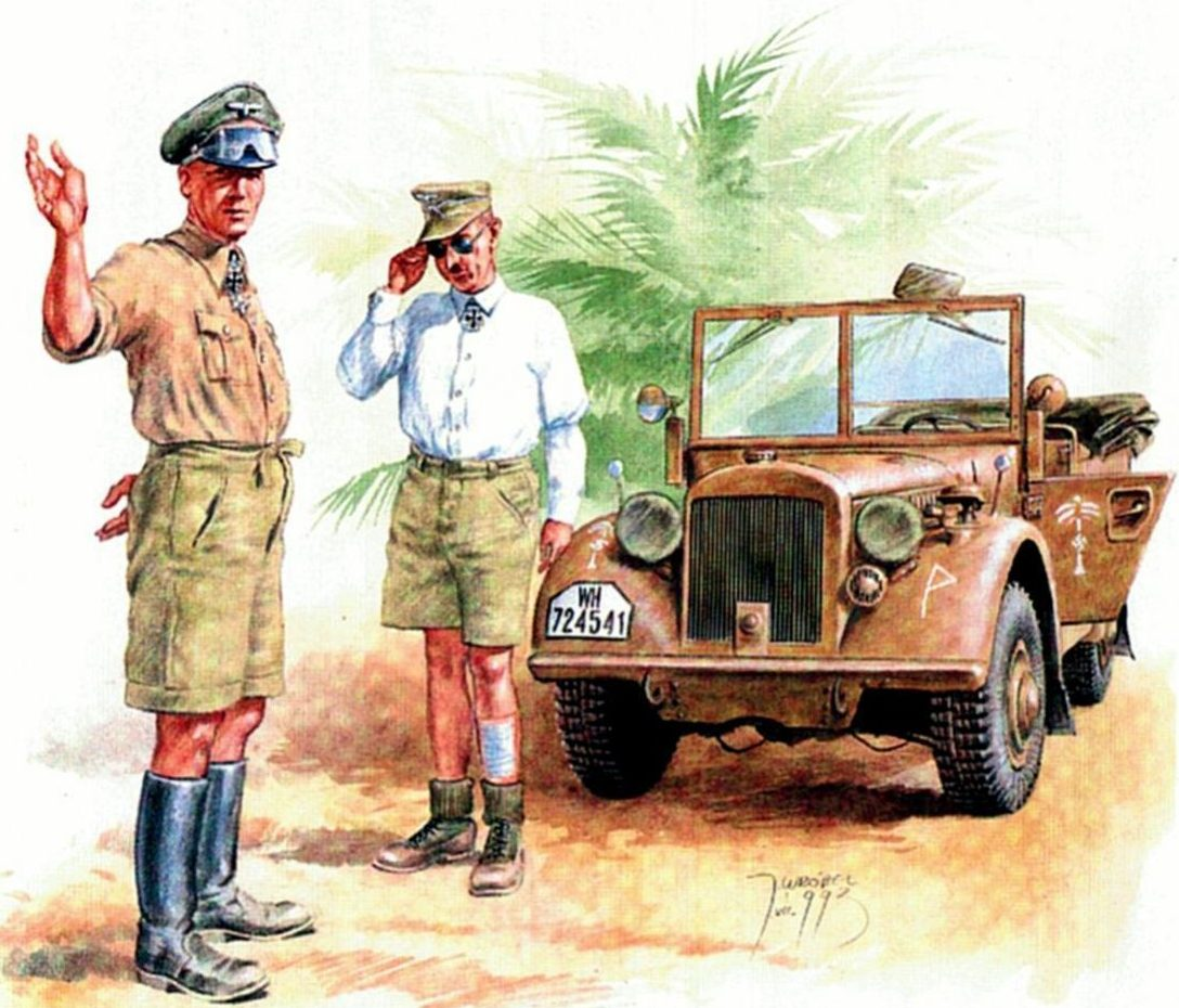 Wrobel Jaroslaw. Генерал-лейтенант Erwin Rommel.