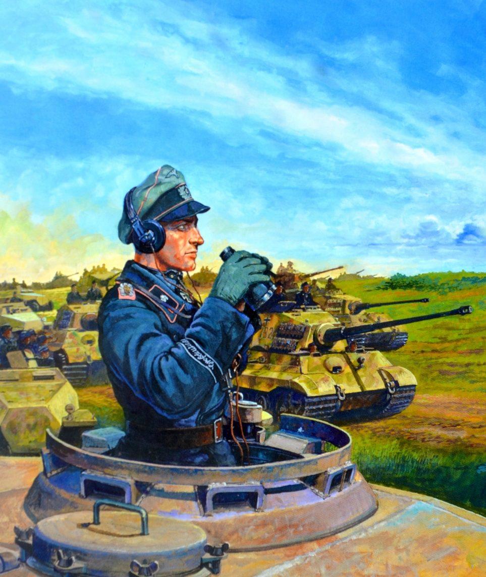Ueda Shin. Немецкий танкист.