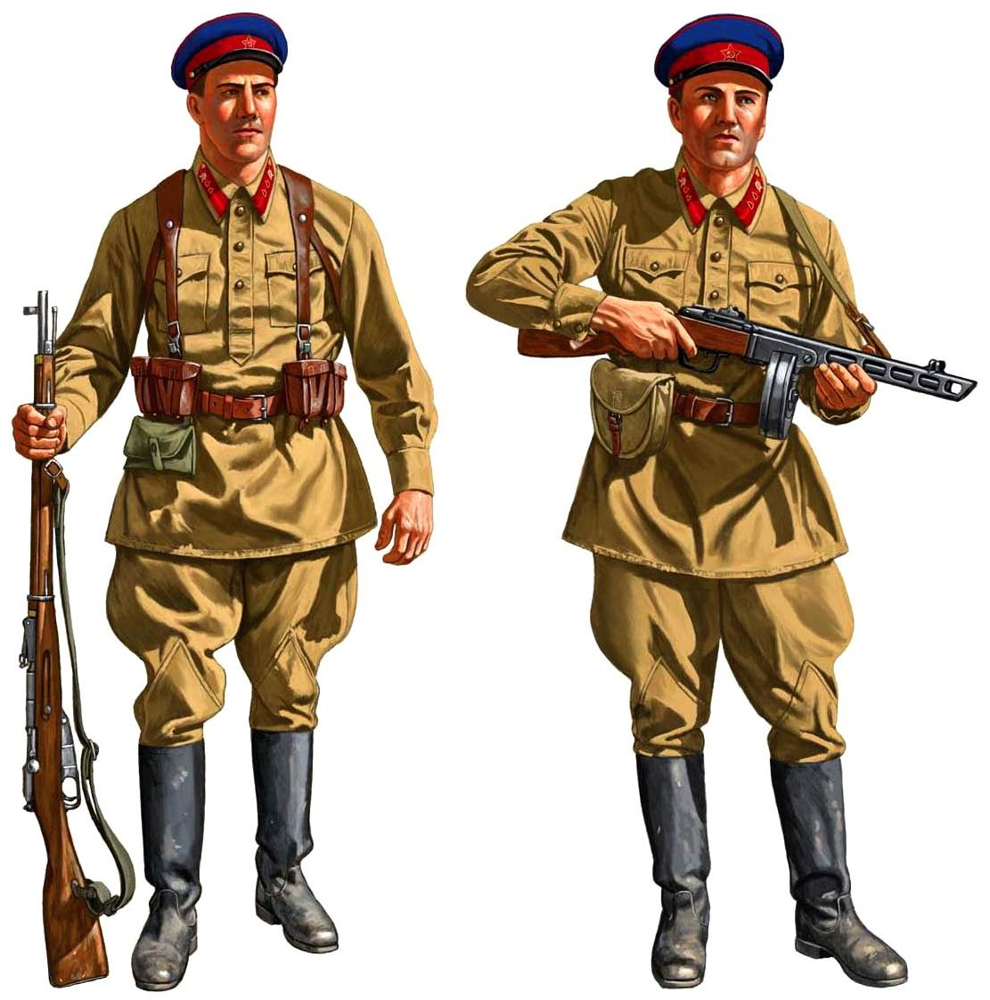Служащие НКВД.