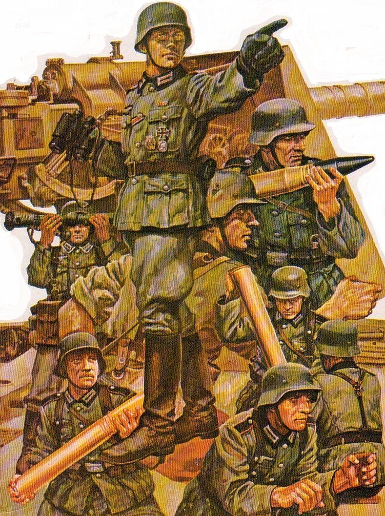 Ueda Shin. Артиллеристы.