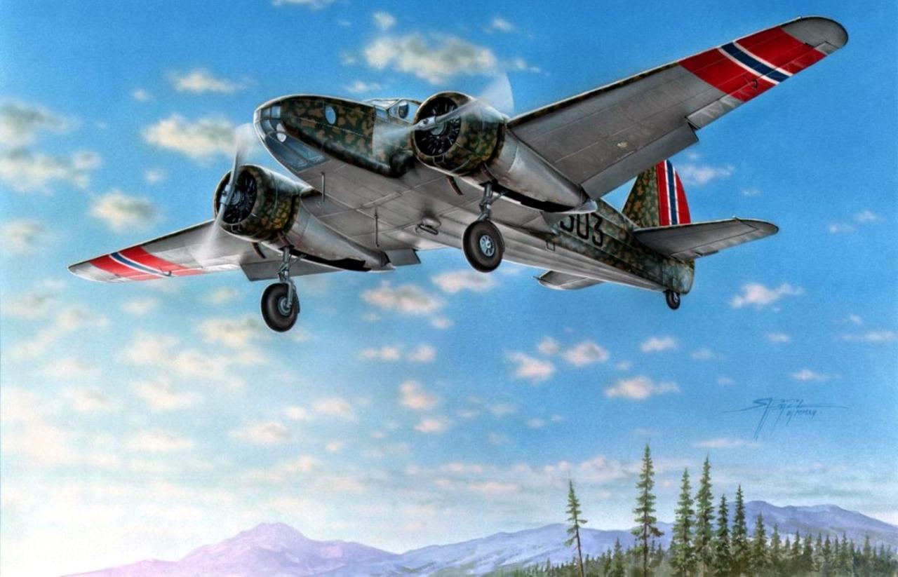 Hajek Stanislav. Истребитель Caproni Ca.310.