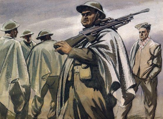 Clark Russell. Сержант Maori.