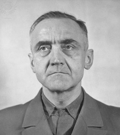 Кристиан Бергер Готтлоб в тюрьме. Берлин. 1951 г.