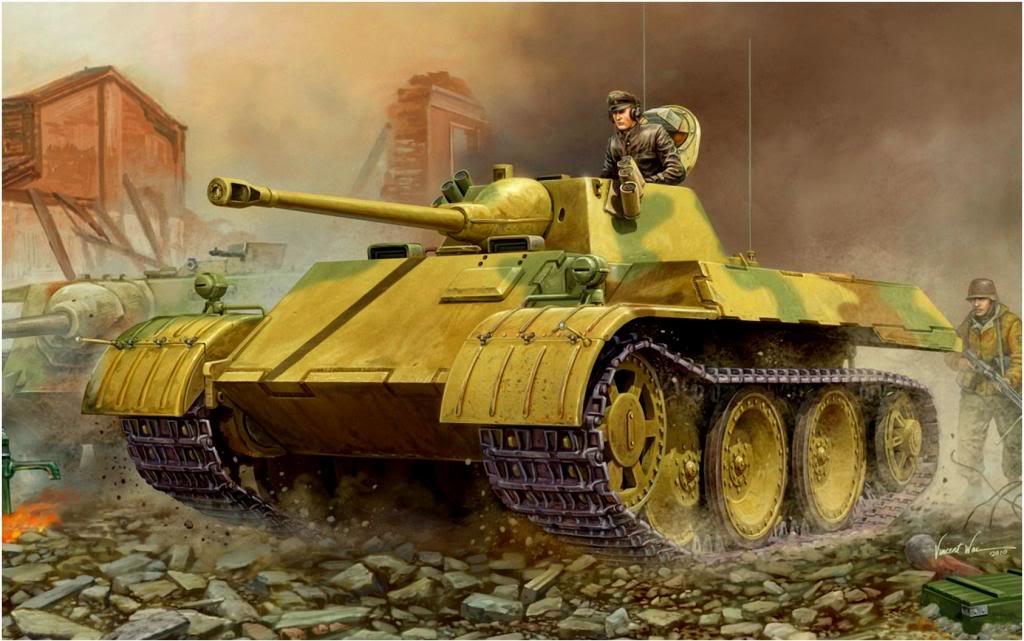 Wai Vincent. Танк VK.1602 Leopard.
