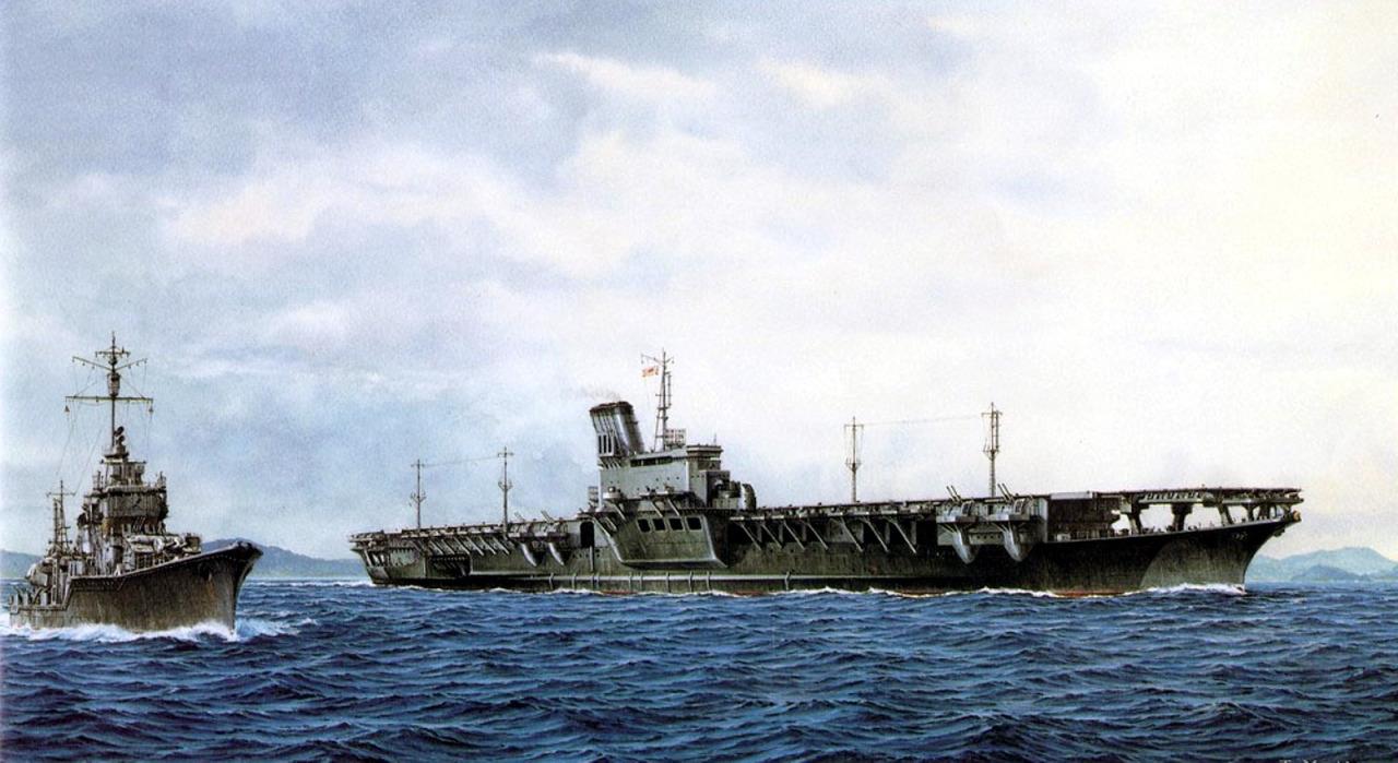 Satake Masao. Авианосец «Shinano».