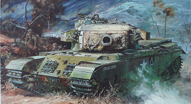 Takani Yoshiyuki. Танк Centurion Mk.III.