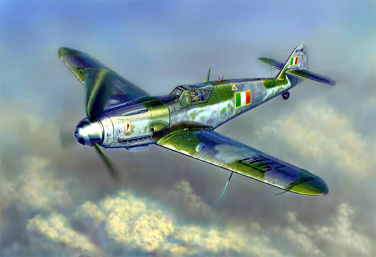 Hajek Stanislav. Истребитель Bf-109 G.