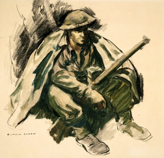 Clark Russell. Солдат.